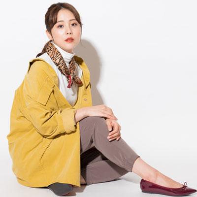 秋冬はコーデュロイを着たい!ジャケット・シャツ・パンツで作る大人女性におすすめコーデ術